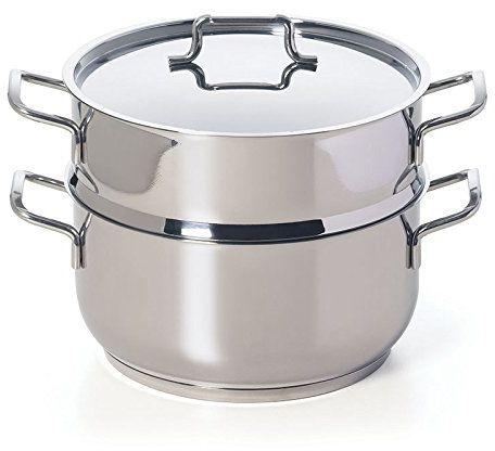 Soul Kitchen Parowar Cooking Light Plus w kolorze srebrnym