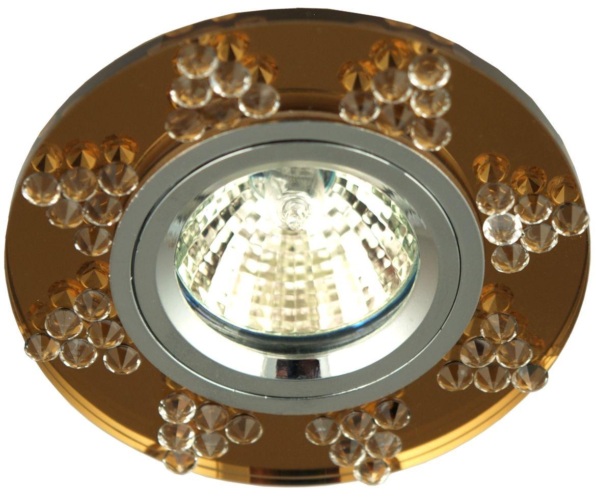 Candellux SS-19 CH/SI oprawa do wbudowania stropowa chrom okrągły siena MR16 min 6,4cm
