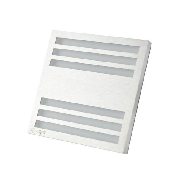 Oprawa schodowa LED 0,6W PEPERS barwa zimna 6500K EKS0941