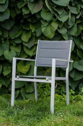 Aluminiowe krzesło do ogrodu DIVERSO