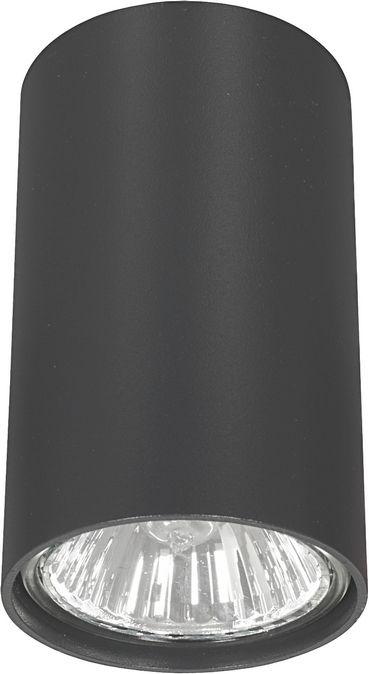 Plafon Eye S 5256 Nowodvorski Lighting grafitowa nowoczesna oprawa w kształcie tuby