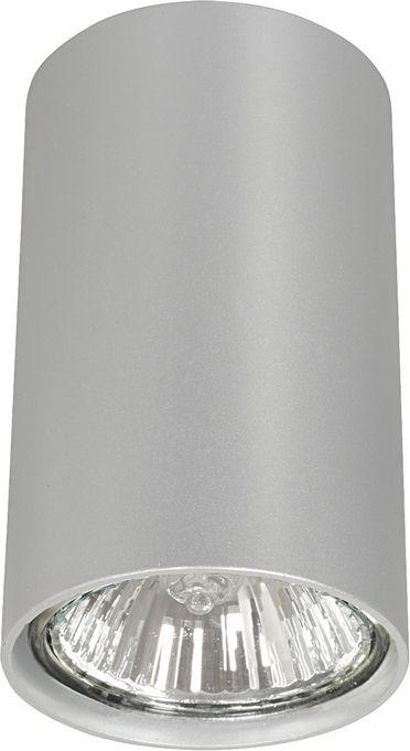 Plafon Eye S 5257 Nowodvorski Lighting srebrna nowoczesna oprawa w kształcie tuby