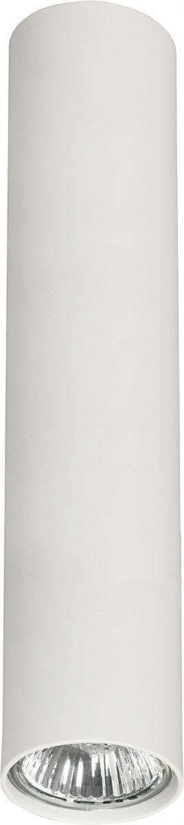 Plafon Eye M 5463 Nowodvorski Lighting biała nowoczesna oprawa w kształcie tuby