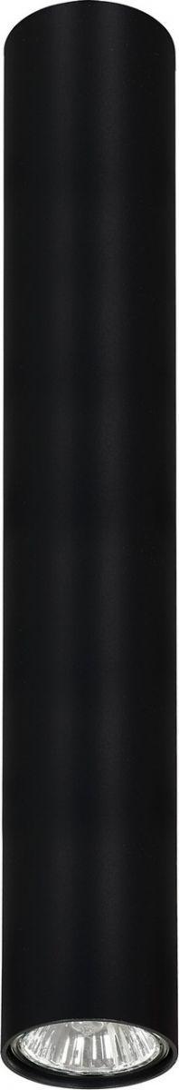 Plafon Eye L 6838 Nowodvorski Lighting czarna nowoczesna oprawa w kształcie tuby