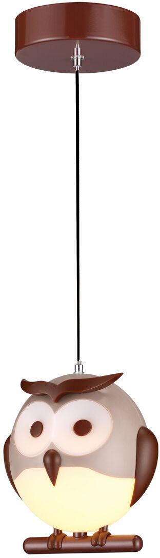 Lampa wisząca SOWA OWL 1XE14 LED ML243 Milagro  Skorzystaj z kuponu -10% -KOD: OKAZJA
