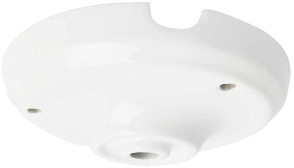 Podsufitka ceramiczna POJEDYNCZA E27 biała LH0501