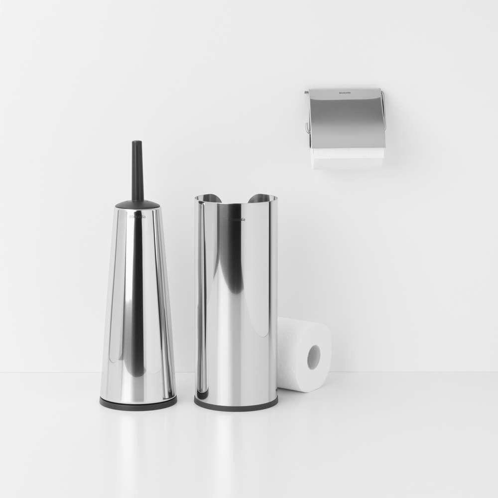 Brabantia - zestaw łazienkowy renew collection - stalowy