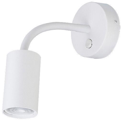 Kinkiet Eye S 9070 Nowodvorski Lighting biała nowoczesna oprawa z elastycznym wysięgnikiem