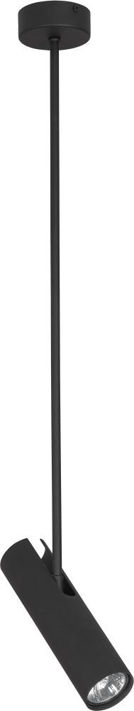 Lampa wisząca Eye Super B 6503 Nowodvorski Lighting czarna ruchoma oprawa sufitowa w nowoczesnym stylu